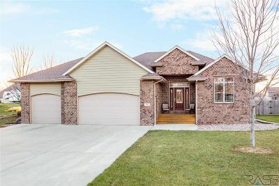 Sioux Falls, Harrisburg, Brandon, Tea, Worthington, Lennox, Canton, Hartford, Crooks, Renner, Humboldt Single Family Home For Sale: 309 Emmett Trl