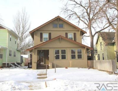 Sioux Falls, Harrisburg, Brandon, Tea, Worthington, Lennox, Canton, Hartford, Crooks, Renner, Humboldt Single Family Home For Sale: 621 N Summit Ave