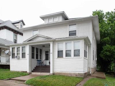 Sioux Falls, Harrisburg, Brandon, Tea, Worthington, Lennox, Canton, Hartford, Crooks, Renner, Humboldt Multi Family Home For Sale: 418 420 W 12th St