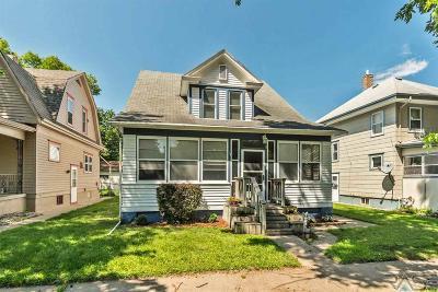 Sioux Falls, Harrisburg, Brandon, Tea, Worthington, Lennox, Canton, Hartford, Crooks, Renner, Humboldt Single Family Home For Sale: 329 N Franklin Ave