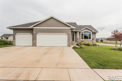 Sioux Falls, Harrisburg, Brandon, Tea, Worthington, Lennox, Canton, Hartford, Crooks, Renner, Humboldt Single Family Home For Sale: 608 Brannon Dr