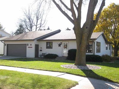 Dell Rapids Single Family Home For Sale: 201 E 9th St
