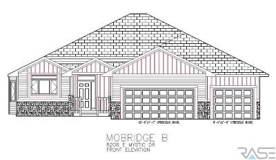 Sioux Falls Single Family Home For Sale: 8208 E Mystic Dr