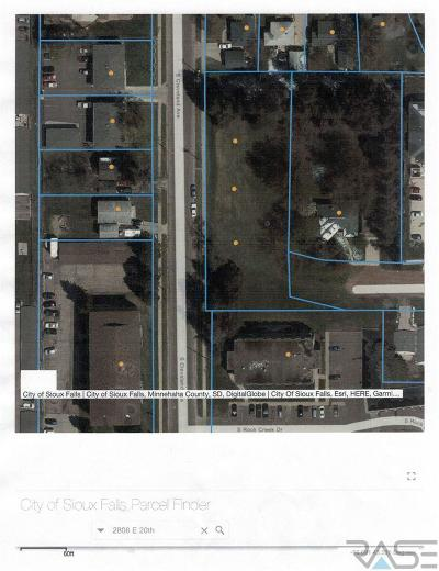 Sioux Falls Residential Lots & Land For Sale: 2808 E 20th St