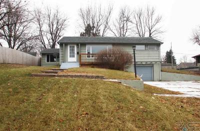 Sioux Falls SD Single Family Home For Sale: $172,900
