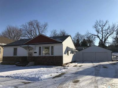 Sioux Falls SD Single Family Home For Sale: $164,900