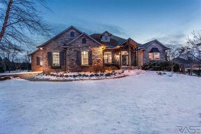 Sioux Falls SD Single Family Home For Sale: $875,000