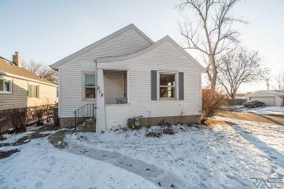 Sioux Falls SD Single Family Home Active-New: $149,900