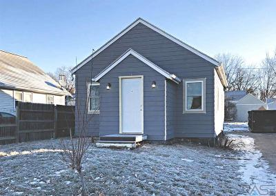 Sioux Falls SD Single Family Home For Sale: $109,900