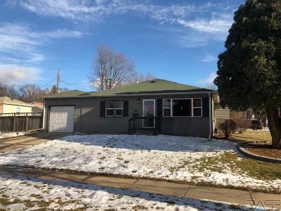 Sioux Falls SD Single Family Home For Sale: $169,900