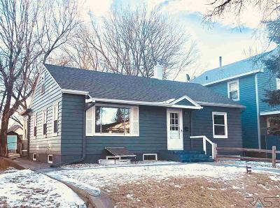 Sioux Falls SD Single Family Home For Sale: $189,900