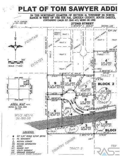 Harrisburg Residential Lots & Land For Sale: 47378 Tom Sawyer Trl #Lot 8