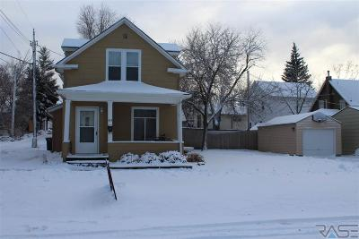 Sioux Falls Single Family Home For Sale: 615 W 3rd St