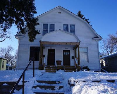 Sioux Falls Multi Family Home For Sale: 605 & 607 S Duluth Ave