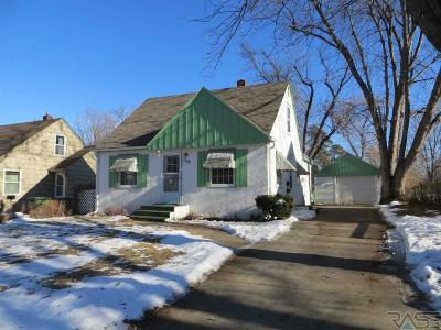 Sioux Falls Single Family Home Active - Contingent Misc: 1908 S 7th Ave