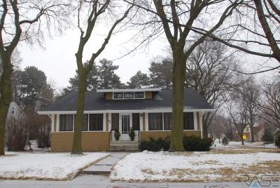 Sioux Falls Single Family Home For Sale: 601 E 26th St