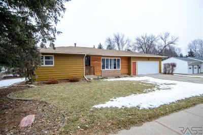 Sioux Falls Single Family Home For Sale: 5202 W 37th St