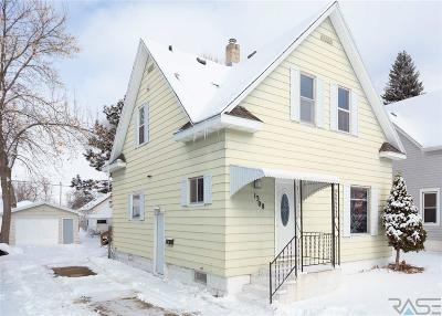 Sioux Falls SD Single Family Home For Sale: $149,900