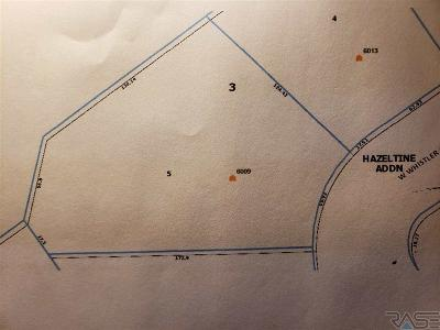 Sioux Falls Residential Lots & Land For Sale: 6009 W Whistler Ct