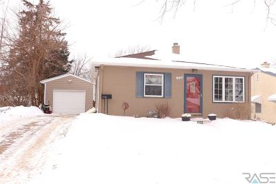 Sioux Falls SD Single Family Home Active - Contingent Misc: $154,900