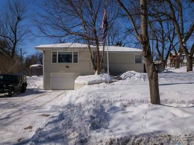Sioux Falls Single Family Home Active - Contingent Misc: 2505 S Van Eps Ave
