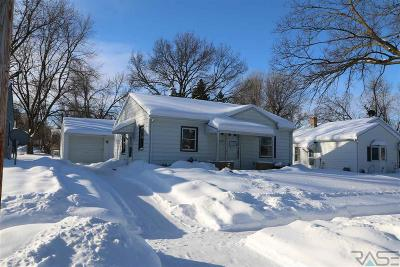 Sioux Falls Single Family Home Active - Contingent Misc: 2301 E Austin St