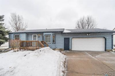 Sioux Falls Single Family Home Active - Contingent Misc: 5805 W Bakker Park Dr