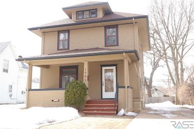 Sioux Falls Single Family Home For Sale: 1505 S Duluth Ave