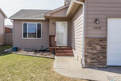 Sioux Falls Single Family Home For Sale: 4109 W 92nd St