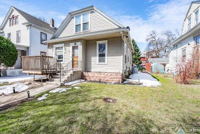 Sioux Falls Single Family Home Active - Contingent Misc: 805 S Spring Ave