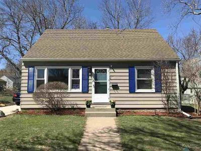 Sioux Falls Single Family Home Active - Contingent Misc: 1605 S Wayland Ave