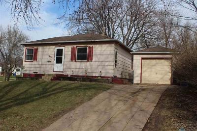 Sioux Falls Single Family Home For Sale: 1000 S Tabbert Cir