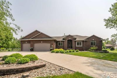 Sioux Falls Single Family Home For Sale: 27017 Rolling Thunder Ln