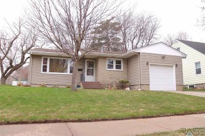 Sioux Falls Single Family Home Active - Contingent Misc: 2319 S Grange Ave