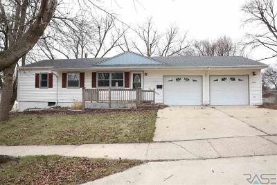 Sioux Falls Single Family Home For Sale: 1433 S Comet Rd