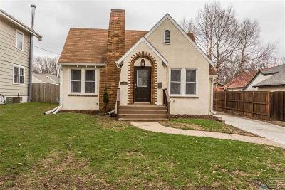 Sioux Falls Single Family Home For Sale: 1512 S Dakota Ave