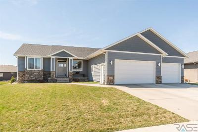 Sioux Falls Single Family Home Active-New: 6512 E Steamboat Trl
