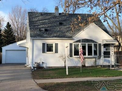 Sioux Falls Single Family Home Active-New: 1509 S Frederick Dr