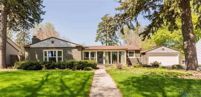 Sioux Falls Single Family Home For Sale: 1607 S Carter Pl