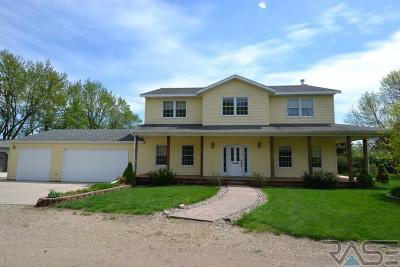 Sioux Falls Single Family Home For Sale: 26940 17 Hwy