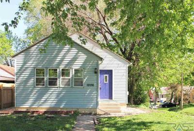 Sioux Falls, Harrisburg, Brandon, Tea, Worthington, Lennox, Canton, Hartford, Crooks, Renner, Humboldt Single Family Home Active-New: 1006 W 3rd St