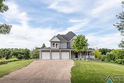 Sioux Falls Single Family Home Active-New: 6502 E Dan Ridge
