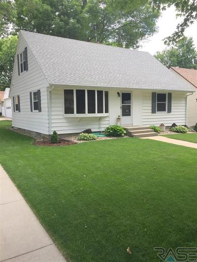 Sioux Falls Single Family Home Active-New: 1600 S West Ave