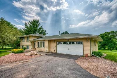 Sioux Falls, Harrisburg, Brandon, Tea, Worthington, Lennox, Canton, Hartford, Crooks, Renner, Humboldt Single Family Home For Sale: 25543 475th Ave