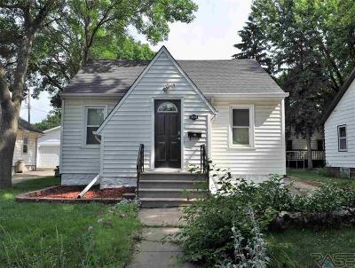 Sioux Falls, Harrisburg, Brandon, Tea, Worthington, Lennox, Canton, Hartford, Crooks, Renner, Humboldt Single Family Home For Sale: 1104 W 6th St