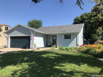 Sioux Falls Single Family Home For Sale: 5612 W Dardanella Rd