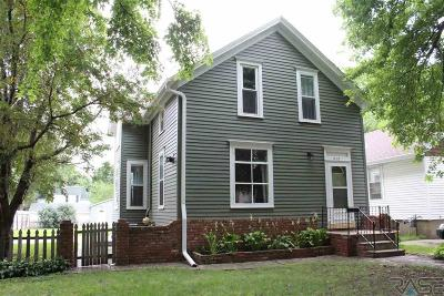 Sioux Falls Single Family Home For Sale: 812 S Prairie Ave