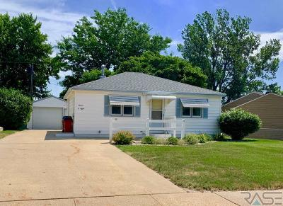 Sioux Falls Single Family Home Active - Contingent Misc: 1108 S Tabbert Cir