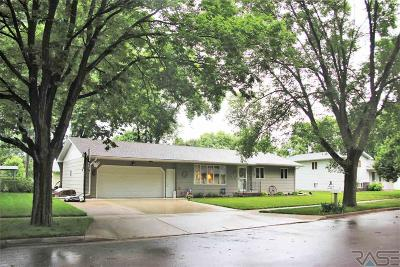 Dell Rapids Single Family Home Active - Contingent Misc: 1103 Northview Dr