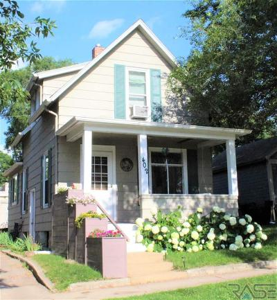 Sioux Falls Single Family Home Active-New: 402 N Walts Ave